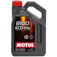 8100 ECO-LITE SAE 0W20 (4L)