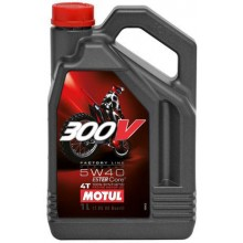 300V 4T FACTORY LINE OFF ROAD SAE 5W40 (4L)