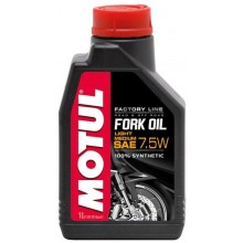 FORK OIL LIGHT/MEDIUM FACTORY LINE SAE 7,5W (1L)