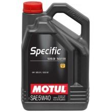 SPECIFIC 505 01 502 00 SAE 5W40 (5L)
